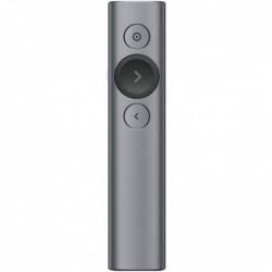 LOGITECH Spotlight Télécommande de Présentation sans Fil, Bluetooth et 2,4 GHz avec Nano-Récepteur USB
