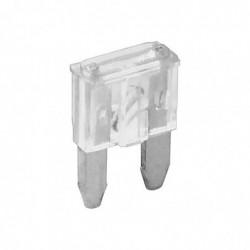 FIXPOINT Lot de 6 mini 16mm fusible automobile 25A transparent