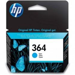 HP Cartouche d'encre original N° 364 (CB318EE) 300 pages cyan