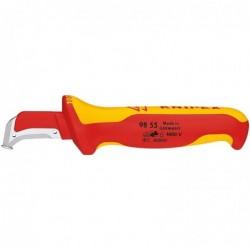 KNIPEX Couteau à dénuder 180 mm