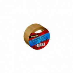 SCOTCH Lot de 6 Rubans d'emballage Classic PP 41 microns H50 mm x L66 mètres havane