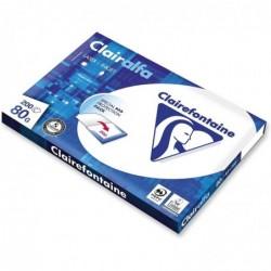 CLAIRALFA Ramette 200 feuilles papier multifonction A4 80g extra blanc