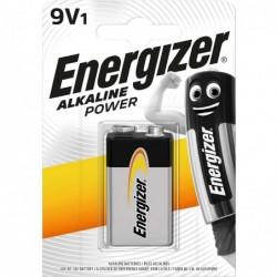 ENERGIZER Blister de 1 Pile Alcaline Power 6LR61 9V