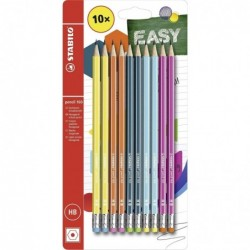 STABILO Pack 10 crayons...