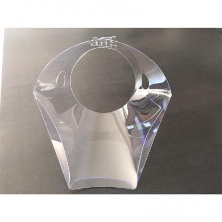 STOCK BUREAU Visière de protection haute qualité plexiglas ajustable haute transparence