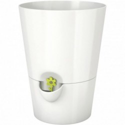 EMSA Pot à herbes, blanc, diamètre: 130 mm, hauteur: 170mm,