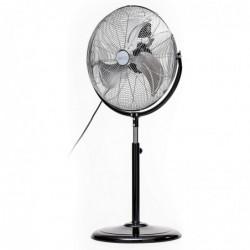 CAMRY Ventilateur sur pied métal robuste et puissant 110W Diam 45 cm Noir