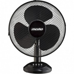 MESKO Ventilateur de table 45W Diam 40 cm noir