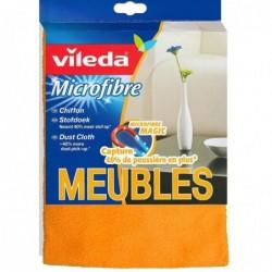 VILEDA Chiffon Microfibre à Poussière 30 x 40 cm Orange