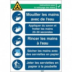BRADY Panneau Instructions...