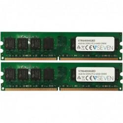 V7 Module de RAM - 4 Go (2 x 2 Go) DDR2 800MHZ CL6
