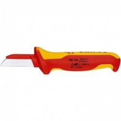 KNIPEX Couteau électricien coupe câble 190 mm