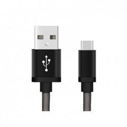 Chargeur USB Type-C - 1,0 mètre Noir