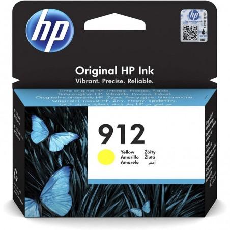 HP Cartouche Jet d'encre N°912 Jaune