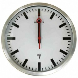 UNILUX Horloge murale radio...
