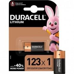 DURACELL Blister de 1 Pile Photo Ultra Lithium DL 123 A