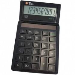TWEN Calculatrice de bureau ECO 10 écran LCD à 10 chiffres