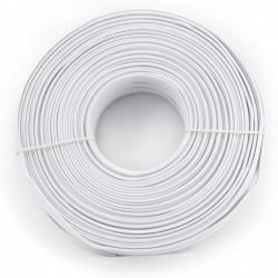 GEMBIRD Rouleau câble téléphone TC1000S-100M 100 m plat blanc