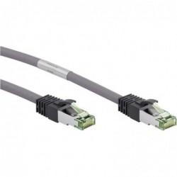 NEW SUN Câble patch CAT 8.1 S/FTP (PiMF) LSZH halogen-free CU 1m gris