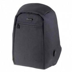 "LIGHTPAK Sac à dos ""SAFEPAK"", avec port USB, anthracite"