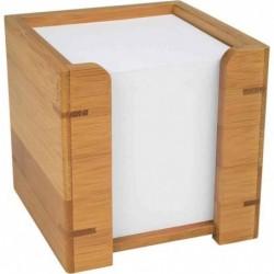 WEDO support pour bloc-notes, en bambou, avec papier