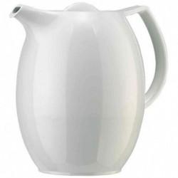 EMSA Pichet pour thé isotherme ELLIPSE, 1 litre, blanc