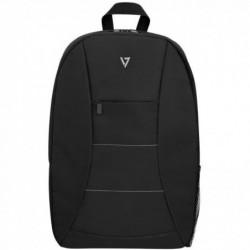 """V7 Sac à dos Style pour Ordinateur Portable 39,6 cm (15,6"""") Polyester Noir"""