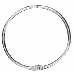 WONDAY Boîte de 25 anneaux brisés métal diam 64 mm