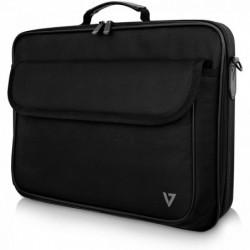 """V7 Sacoche Essential Style pour Ordinateur Portable 40,6 cm (16"""") Noir 600D Polyester"""