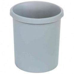 HAN Corbeille à papier STANDARD, 30 litres, rond, gris clair