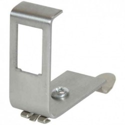 LOGILINK PROFESSIONAL Adaptateur rail DIN pour un module Keystone, métal