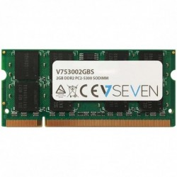 V7 Mémoire notebook 2GB DDR2 PC2-5300 667Mhz SO DIMM