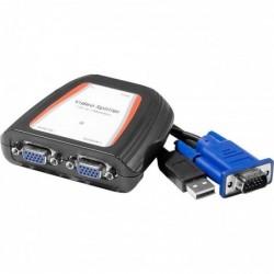Duplicateur vga 2 voies 250MHz alimentation USB