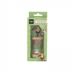 DRAEGER 3 rubans mini-masking tapes Tropical Green