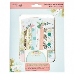 DRAEGER Stickers et sticky notes