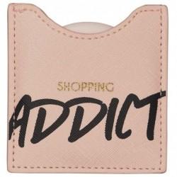 DRAEGER Miroir Shopping addict Rose