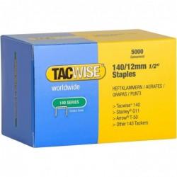 RAPESCO Boîte de 5000 Agrafes 140/12 mm galvanisé