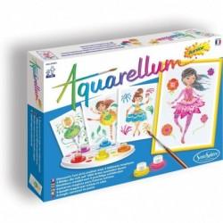 SENTOSPHERE Kit Créatif - Aquarellum Junior - Danseuses