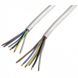 XAVAX Câble pour cuisinière électrique 1,5 m blanc
