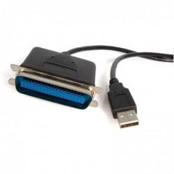STARTECH.COM Câble Adaptateur USB vers 1 Port Parallèle pour Imprimante Mâle Mâle 1,8 m