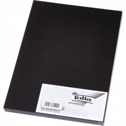 FOLIA Sachet de 5 feuilles Caoutchouc mousse (L)290 x (H)400 mm Ep 2mm noir