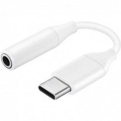 SAMSUNG USB-C vers adaptateur de prise casque mini jack 3,5 mm stéréo (F)