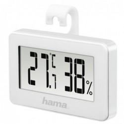 """HAMA Thermomètre/hygromètre """"Mini"""", blanc"""