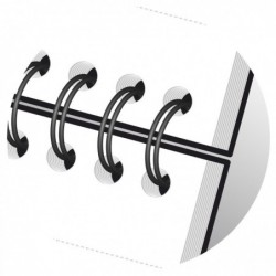 OXFORD bloc spirale...