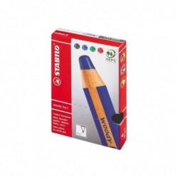 STABILO 4 crayons...