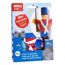 APLI Boite kit créatif Léo...