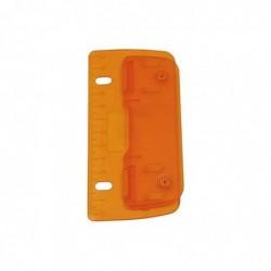 WEDO perforatrice de poche, capacité :3 feuilles, ICE orange