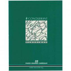 CONQUERANT Cahier 24 x 32...