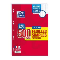 OXFORD paquet de 500 Pages...