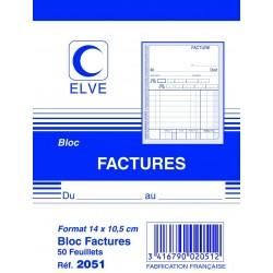 ELVE Bloc factures 50...